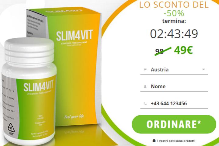 Slim4Vit – Recensioni Vere 2020, Farmacia, Prezzo e Funziona?